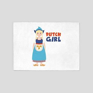 DUTCH GIRL 5'x7'Area Rug
