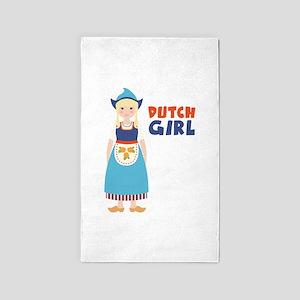 DUTCH GIRL 3'x5' Area Rug