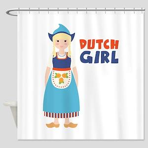 DUTCH GIRL Shower Curtain
