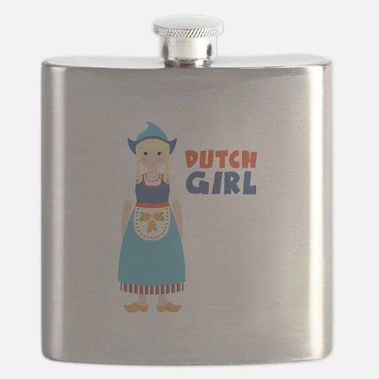 DUTCH GIRL Flask