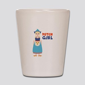 DUTCH GIRL Shot Glass