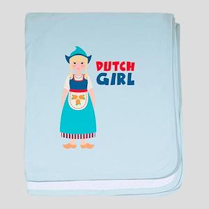 DUTCH GIRL baby blanket