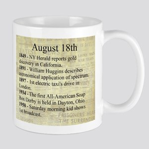 August 18th Mugs