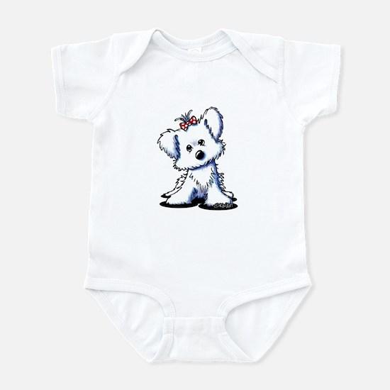 Girlie Maltese Infant Bodysuit