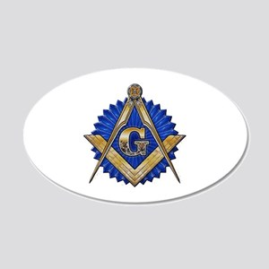 Blue Lodge Mason Wall Decal