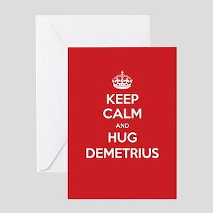 Hug Demetrius Greeting Cards
