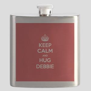 Hug Debbie Flask