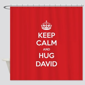 Hug David Shower Curtain