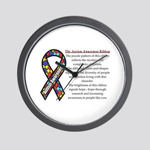Ribbon Meaning Wall Clock