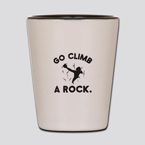 Rock Climbing Shot Glass