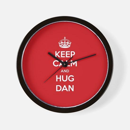 Hug Dan Wall Clock