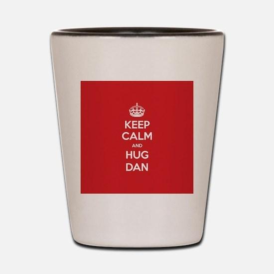 Hug Dan Shot Glass