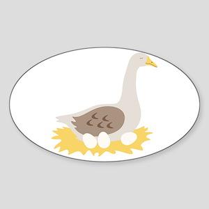 6. Mother Goose Bird Geese Sticker