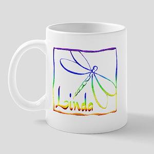 Linda Dragonfly Mug