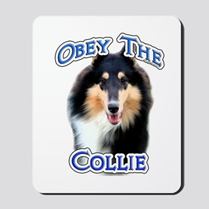 Collie Obey Mousepad