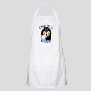 Collie Obey BBQ Apron