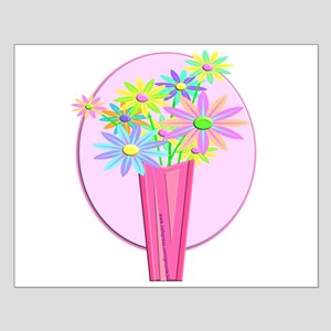 Pastel Flowers Small Poster