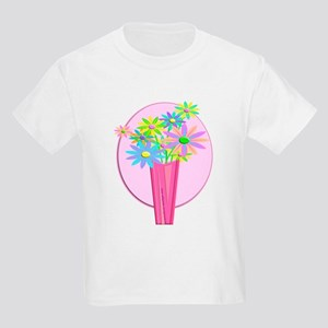 Pastel Flowers Kids Light T-Shirt