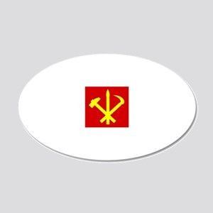 Korean Workers Party Wall Decal