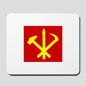 Korean Workers Party Mousepad