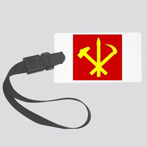 Korean Workers Party Luggage Tag