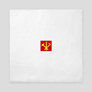 Korean Workers Party Queen Duvet