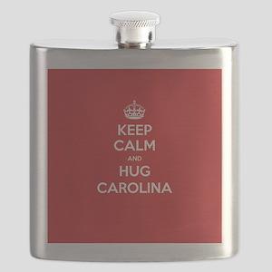 Hug Carolina Flask