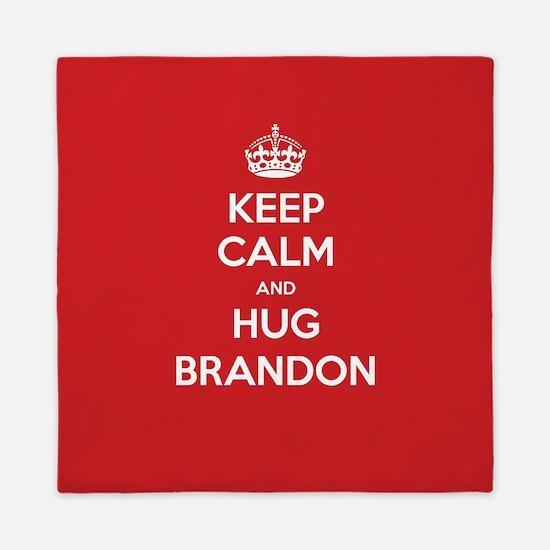 Hug Brandon Queen Duvet