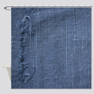 Denim Shower Curtain Shower Curtain