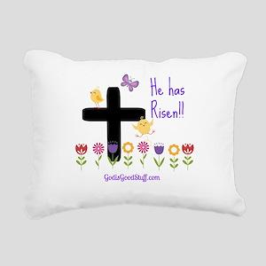 Risen Rectangular Canvas Pillow
