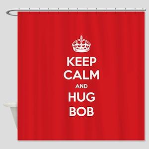 Hug Bob Shower Curtain