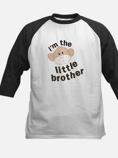 little brother monkey Kids Baseball Jersey