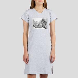 Black Rhino Women's Nightshirt