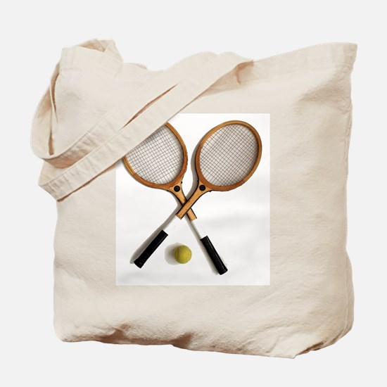 tennis rackets , sports, ballgames,  Tote Bag