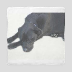Lazy Labrador Queen Duvet