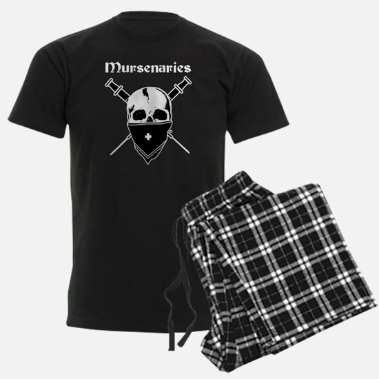 Mursenaries for Dark Backgrounds Pajamas