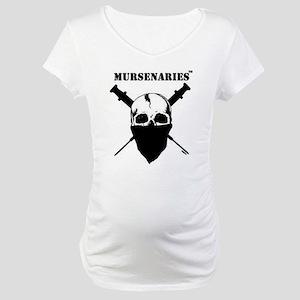 BlackFillonWhite200x200 Maternity T-Shirt