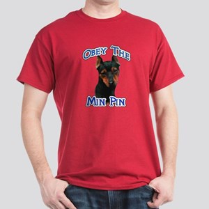 Min Pin Obey Dark T-Shirt