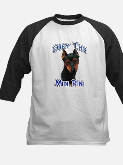 Min Pin Obey Kids Baseball Jersey