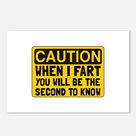 Fart Second Postcards (Package of 8)