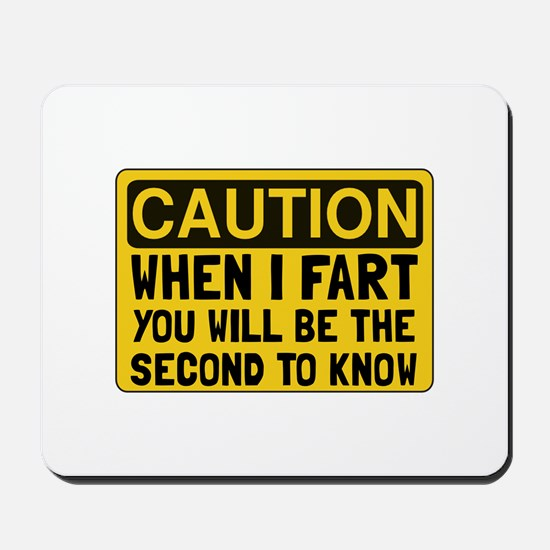 Fart Second Mousepad