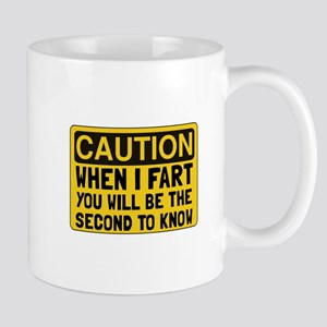 Fart Second Mugs