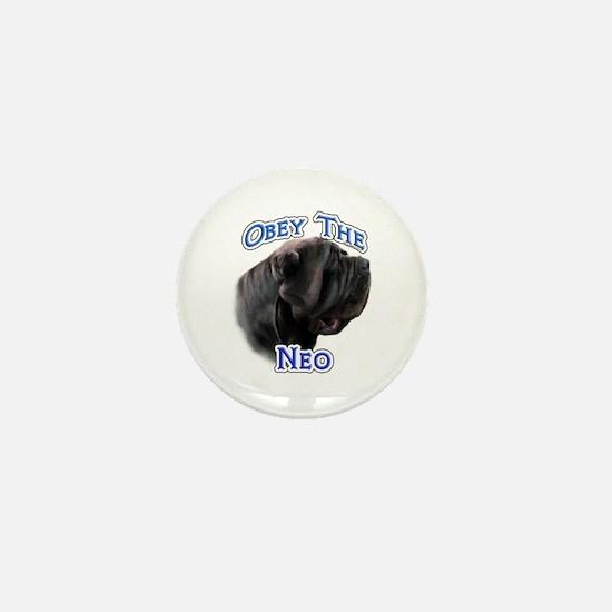 Neo Obey Mini Button
