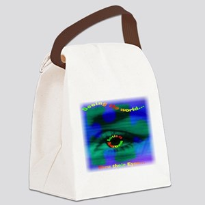 Thru Their Eyes12x9 2 Canvas Lunch Bag