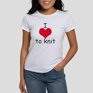 I love to knit Women's T-Shirt