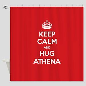 Hug Athena Shower Curtain
