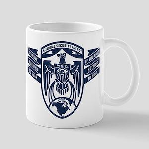 NSA Nothing To Hear Mugs