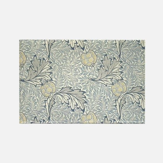William Morris Apple Rectangle Magnet