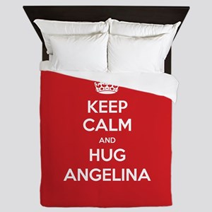 Hug Angelina Queen Duvet