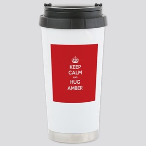 Hug Amber Travel Mug